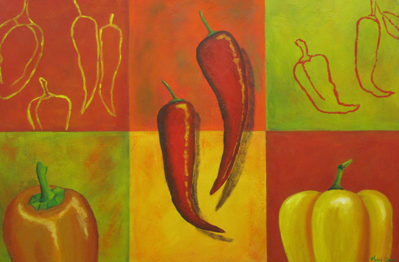 Abstracto-en-rojo-acrílico-sobre-tela-70×110-cms