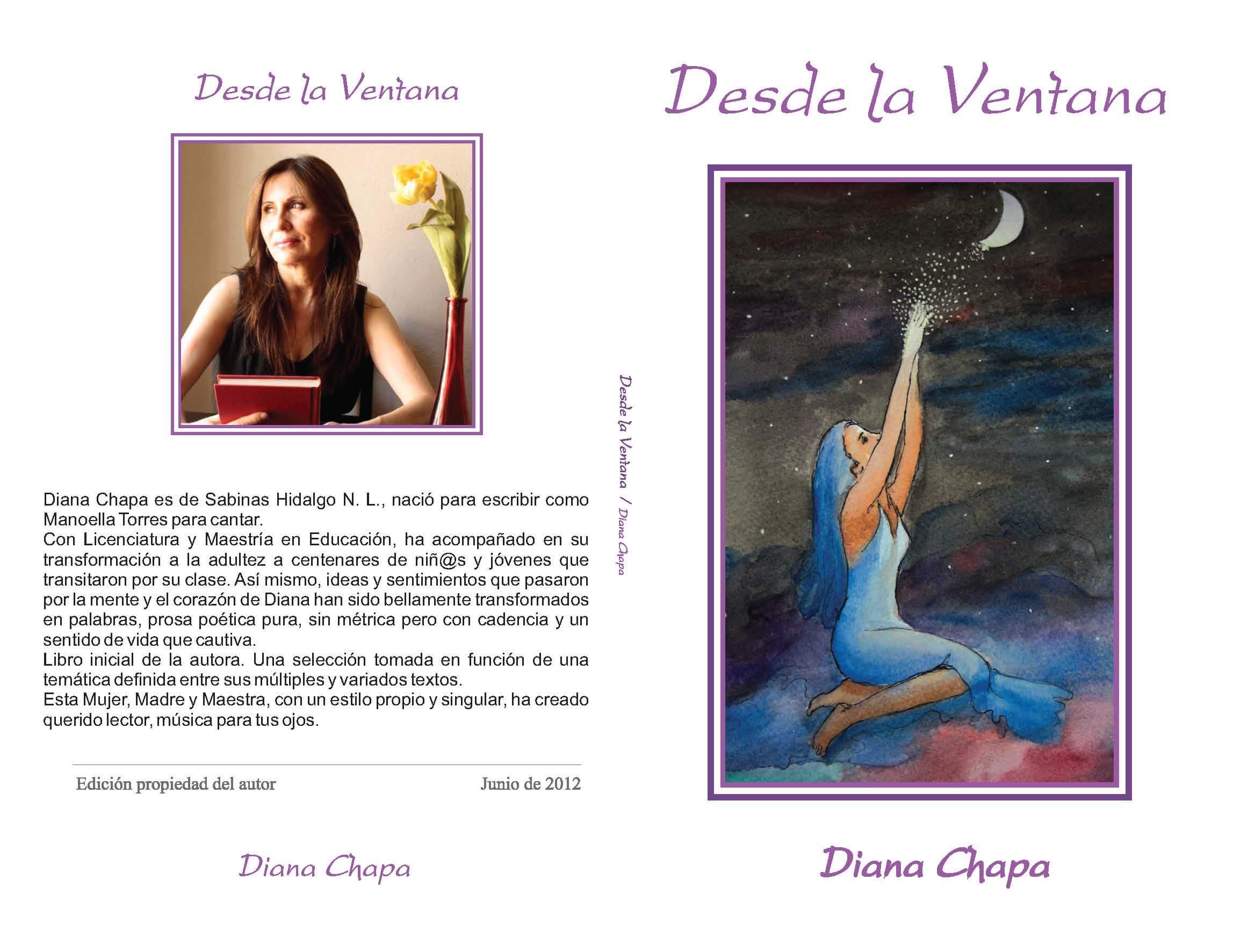 Junio 2012-Portada Libro Desde La Ventana