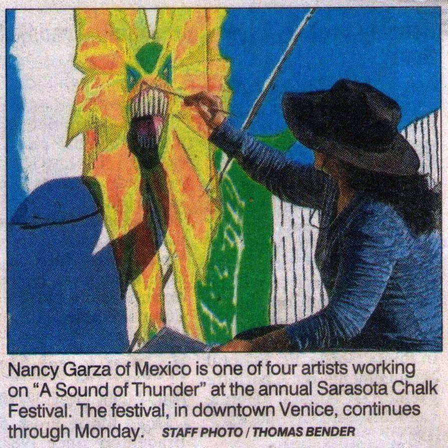 chalk festival Venice Florida 2014
